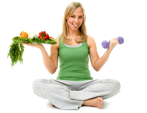 healthy active women