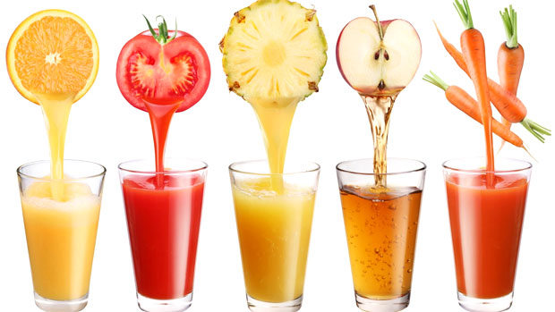 juices extract from fruits