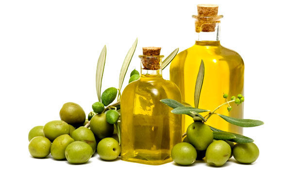 olives an oil in bottle