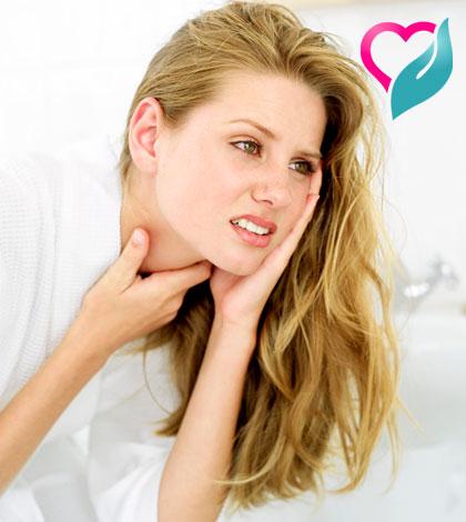 soar throat infection
