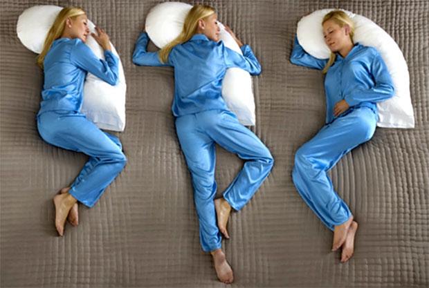 girl sleeping positons