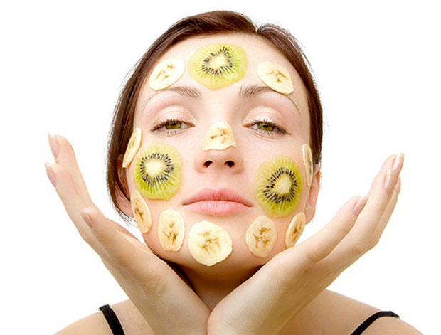 fruits on face