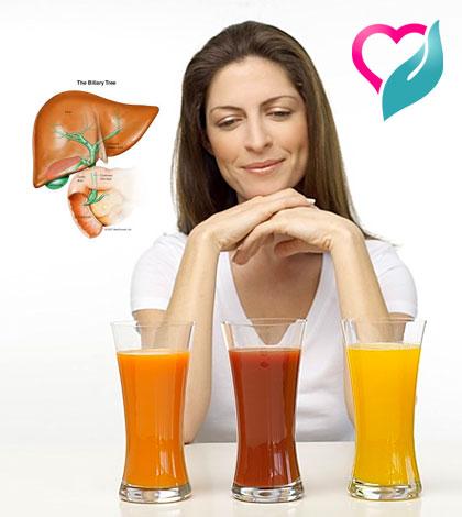 liver juices