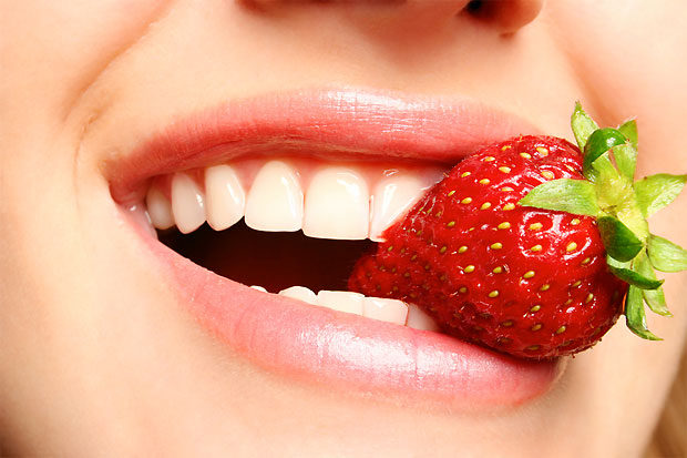 strawberry bite