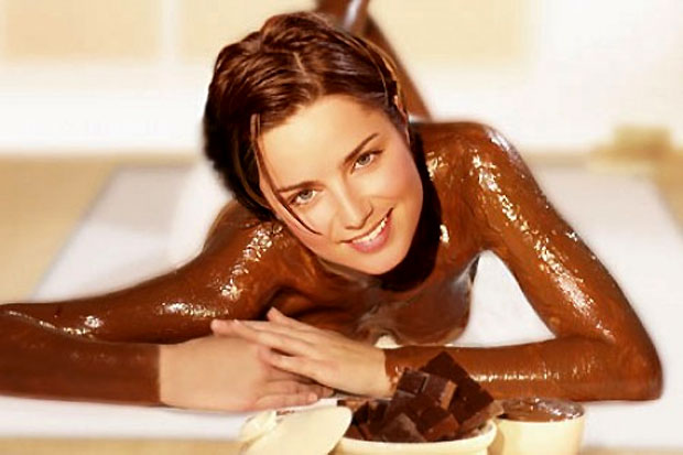 chocolate bath