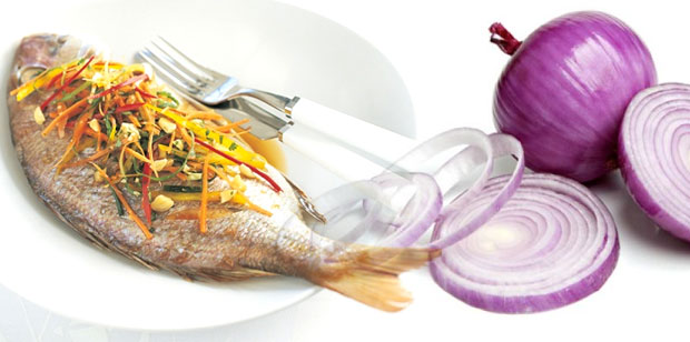 fish onions
