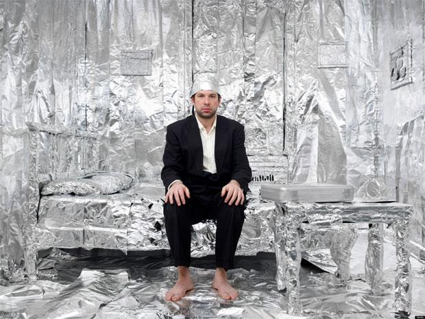 aluminium foil room