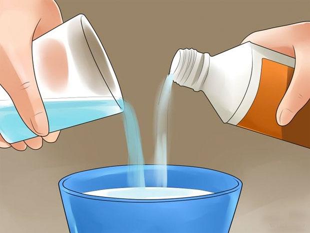 vinegar bleach