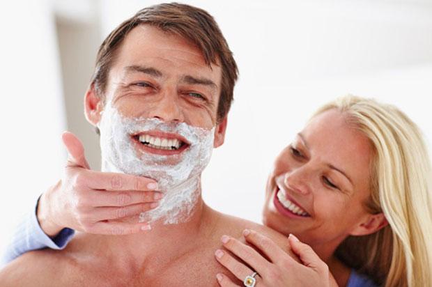 make shaving cream