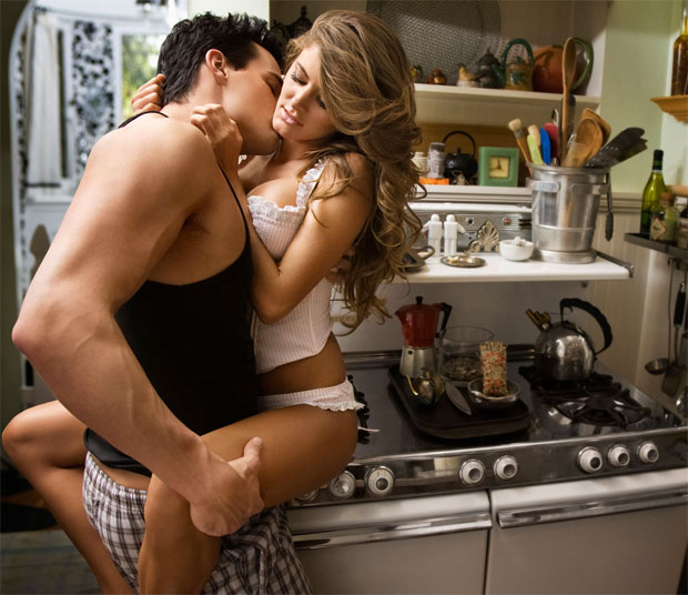 kitchen love postion
