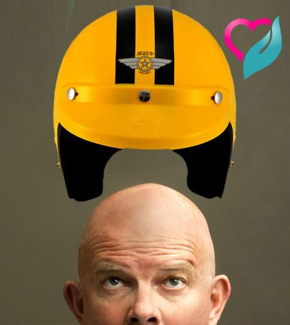 helmet creates baldness