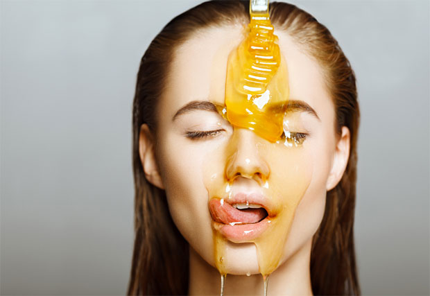 honey for flawless skin