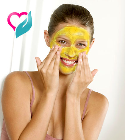 sun damage face mask