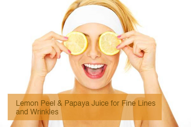 lemon mask peel