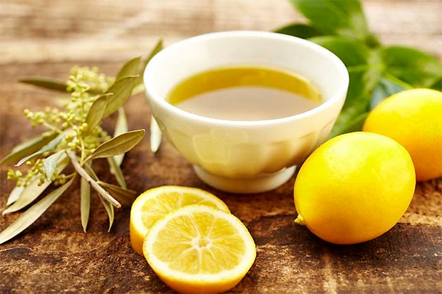 Olive Oil and Lemon Juice