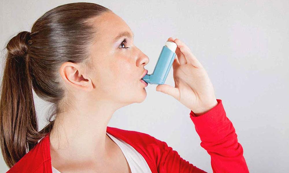 asthma girl