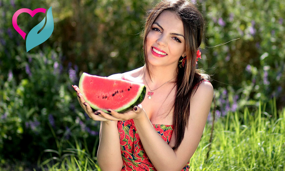 Watermelon alkaline food