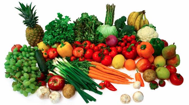 raw fresh vegetables
