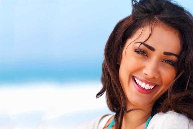 beautiful teeth smiling girl
