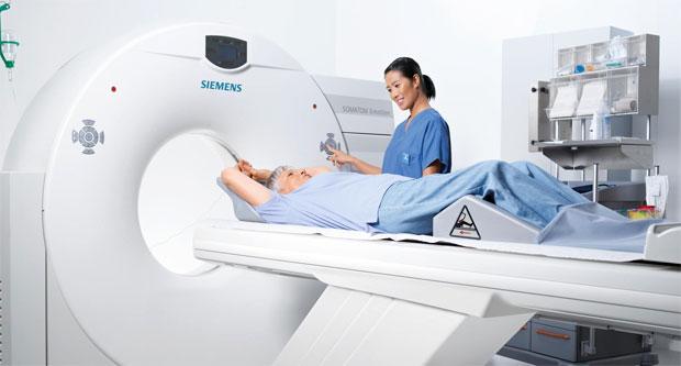 scanning a patient