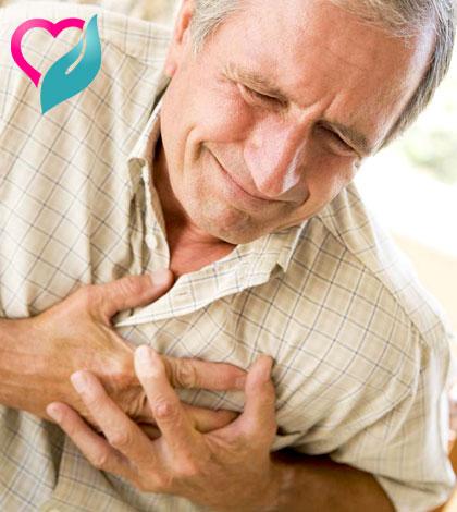 heart attach person