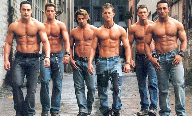 six pack men