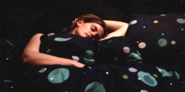 sleeping in dark