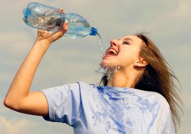 summer drinking water