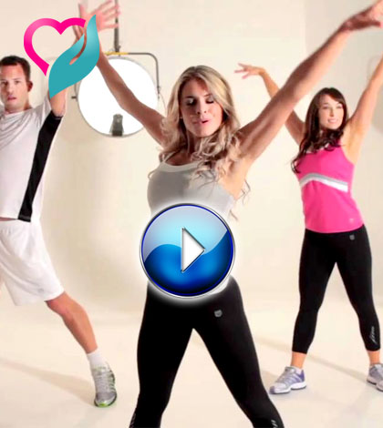 aerobic workout video
