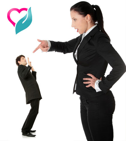 woman firing boyfriend