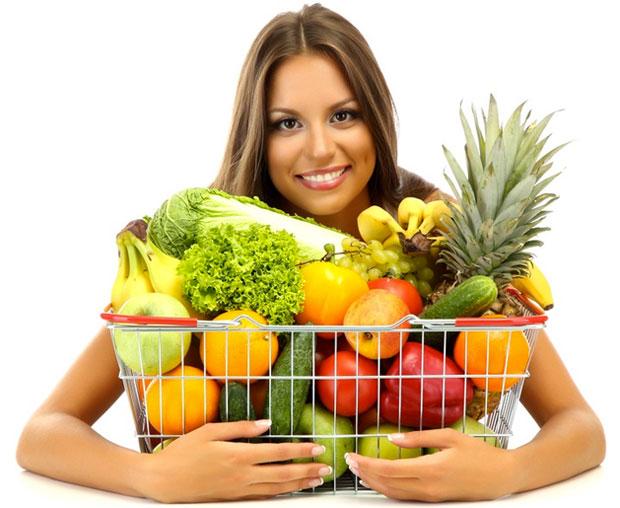 woman synergy food