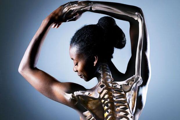 woman bone