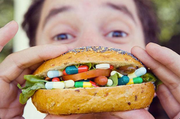 vitamins in burger