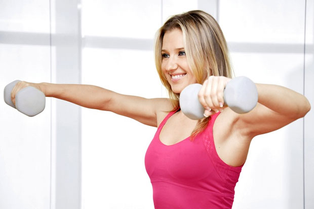 free weight exercise