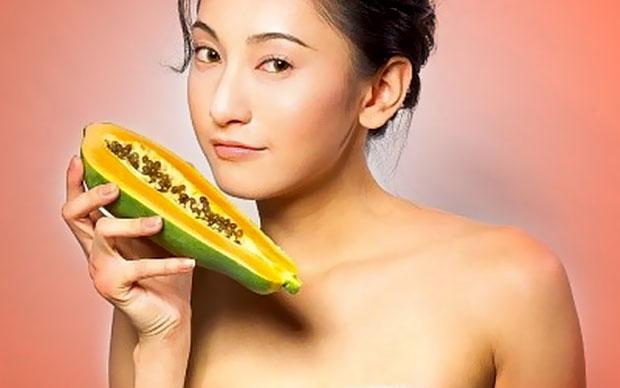 papaya beauty girl