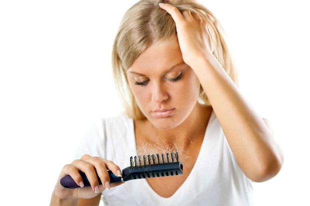 anemic hairloss