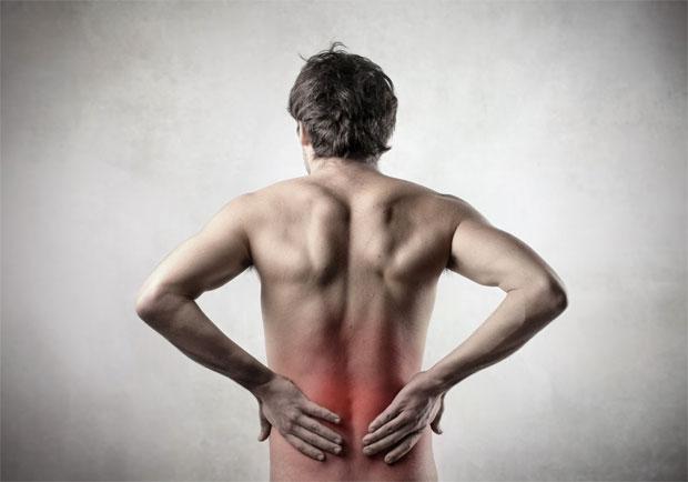 men back pain