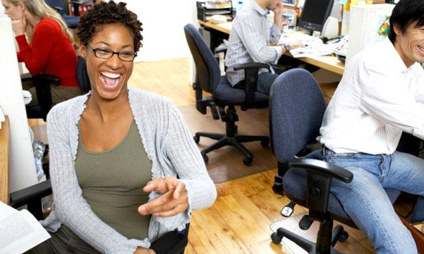 office laugh