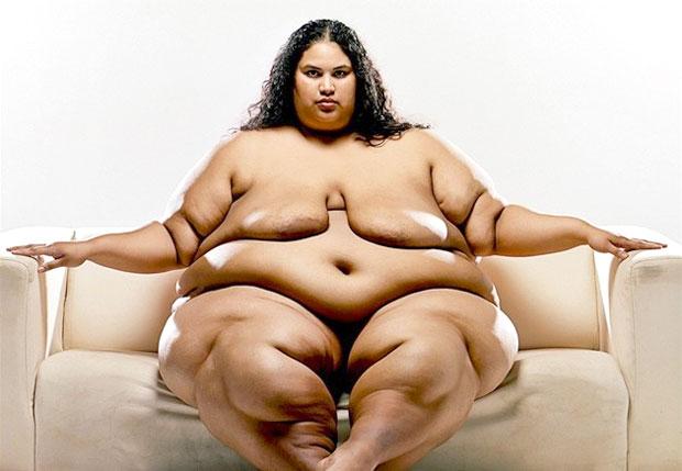 big obese woman