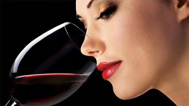 wine smelling