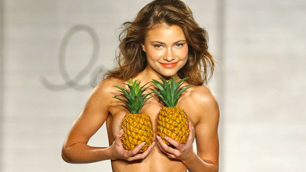 breasts pineapple