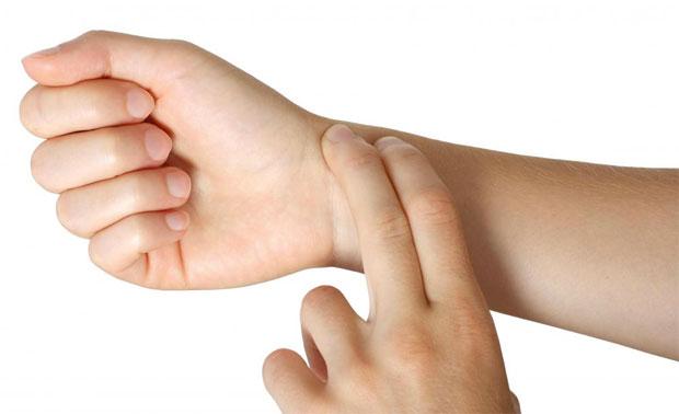 hand pressure check