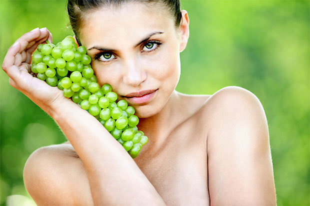 grapes beauty