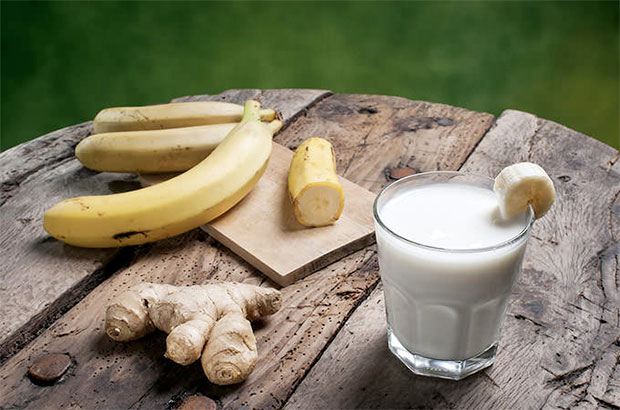 Banana-Ginger-Smoothie