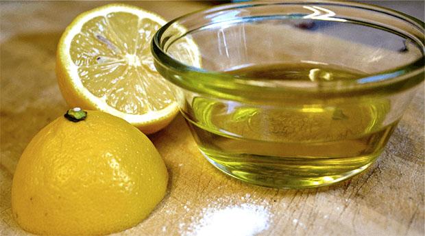 olive and lemon