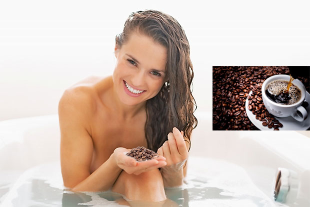 coffe hair rinse
