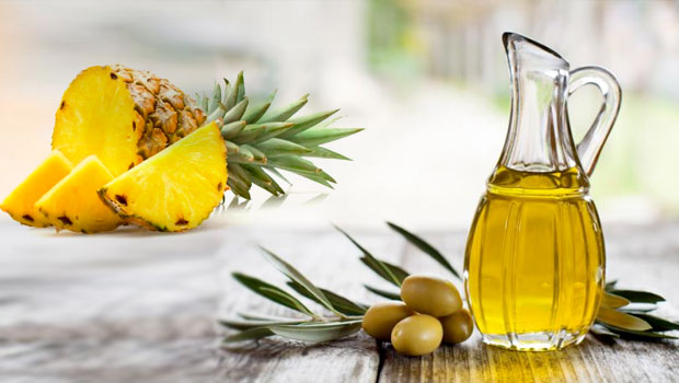Olive Oil and Pineapple