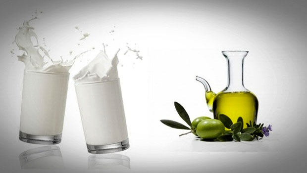 Olive Oil and Warm Milk