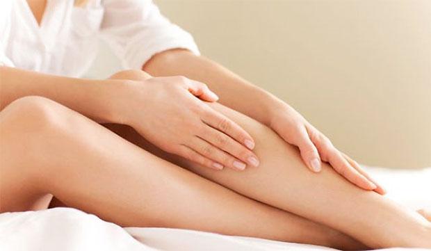applying inner thighs