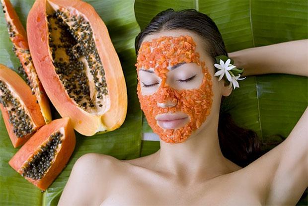papaya acne tip